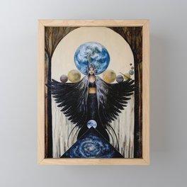 Between the Worlds Framed Mini Art Print