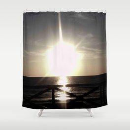 Oceanic landscape: Lacanau  8 Shower Curtain