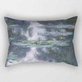 Monet, Water Lilies, Nympheas, 1907 Rectangular Pillow
