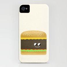 Cheesy Burger iPhone (4, 4s) Slim Case