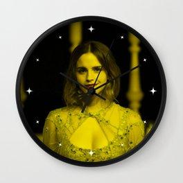 Emma Watson - Celebrity (Florescent Color Technique) Wall Clock