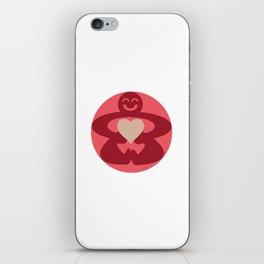 Circle Love iPhone Skin