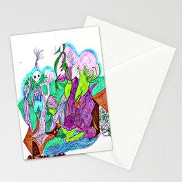 Fractal Landscape Stationery Cards