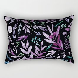 Eucalyptus Violet Rectangular Pillow
