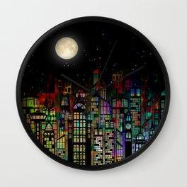 Fairytale City Wall Clock