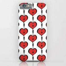 Loving You red hearts iPhone 6s Slim Case