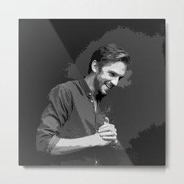 Dan Stevens 5 Metal Print