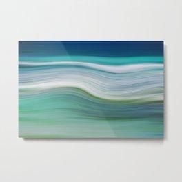 OCEAN ABSTRACT Metal Print