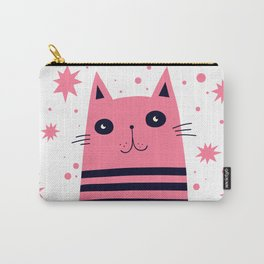 Dreaming Kitty Carry-All Pouch