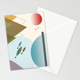 japan minimal no. 3 Stationery Cards