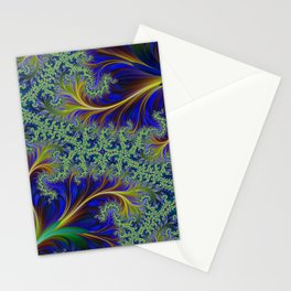 Feather Brocade #1 Stationery Cards