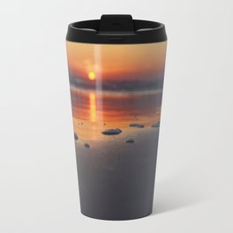 Sandy Sunset- #landscape #beach #photography Travel Mug