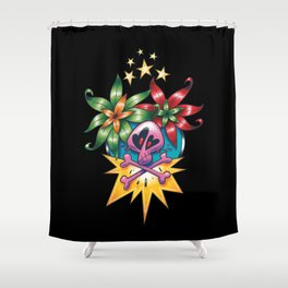 Tatouage de Mégane Shower Curtain