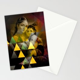 Yashoda's kanha Stationery Cards