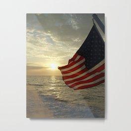 Fourth of July Metal Print