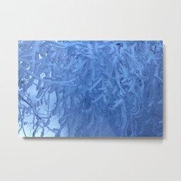 Snow trees Metal Print