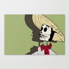 Dia de los Muertos Man Canvas Print