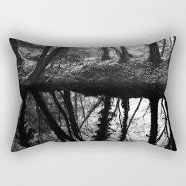 German forest – reflection Rectangular Pillow