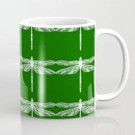 Green Dragonflies Coffee Mug