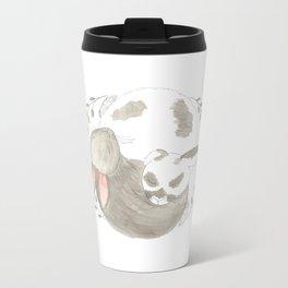Bunny Love Metal Travel Mug