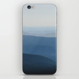 Smoky Blue Mountains iPhone Skin