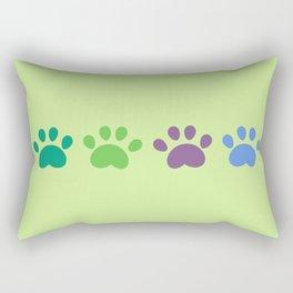 Footstep Rectangular Pillow