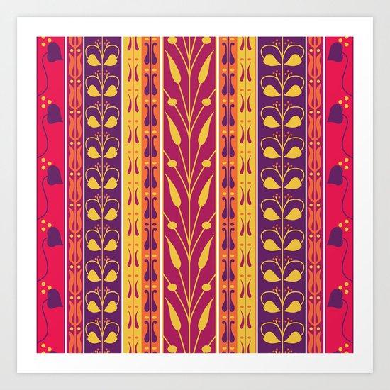 Palmette Art Print
