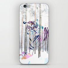 Protected forest iPhone & iPod Skin
