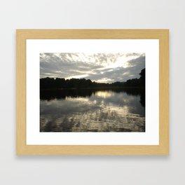 Lakeside 006 Framed Art Print