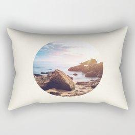 Rocky Beach Rectangular Pillow