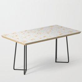 Birds & Birch - Orange Beige Coffee Table