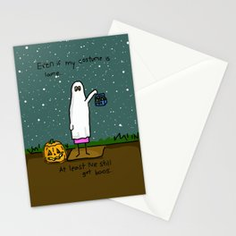 Ghosts At Parties Stationery Cards