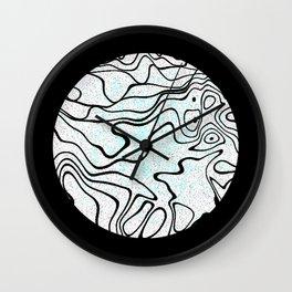 moon #1 Wall Clock
