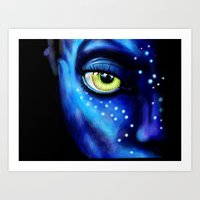 avatar Art Prints featuring Avatar  by itweet