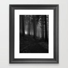 Choose your way Framed Art Print