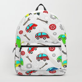 Cars pattern Backpack