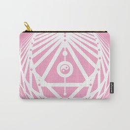 Radiant Abundance (pink-white) Carry-All Pouch