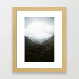 Harris Saddle  Framed Art Print