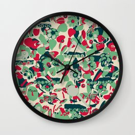 Mexican Spring - Wall Clock