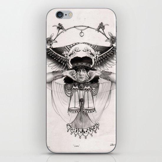 L I B R A  iPhone & iPod Skin