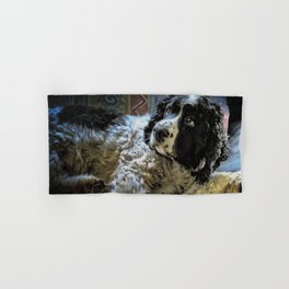 Hunter The Sprocker Hand & Bath Towel