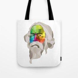 Rabindranath Tagore - popart portrait Tote Bag