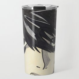L Lawliet- Death Note Travel Mug