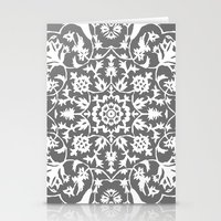 gray Stationery Cards featuring gray by MyMoonart