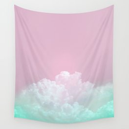 Dreamy Candy Sky Wall Tapestry