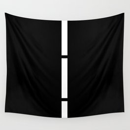 Minimal White 9 Wall Tapestry