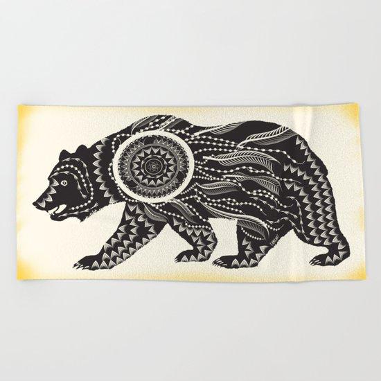 Dream Catcher Bear Beach Towel