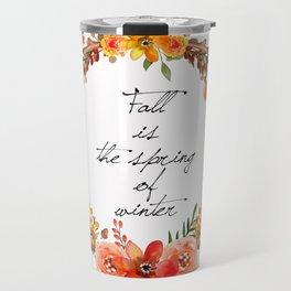 Flower fall Travel Mug