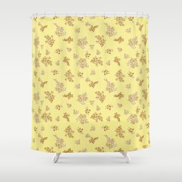 Pastel Tropical Shower Curtain
