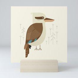 Laughing Kookaburra, Bird of Australia Mini Art Print